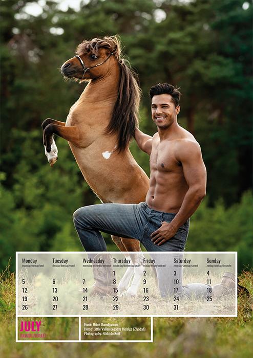 horse and hunk kalender 2021